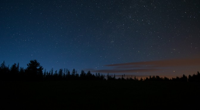 Ten Minutes, Landscape, Night Sky, Stars, Colors