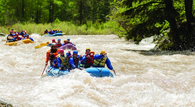 Whitewater, Gallatin River, near Big Sky