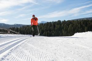 Cross country skiing, Lone Mountain Ranch, Big Sky, Yellowstone Country