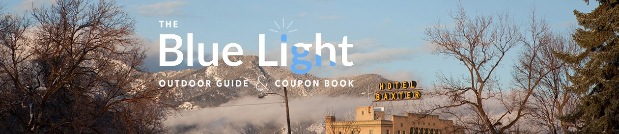 The Blue Light Outdoor Guide